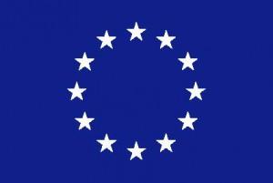 logo UE bianco